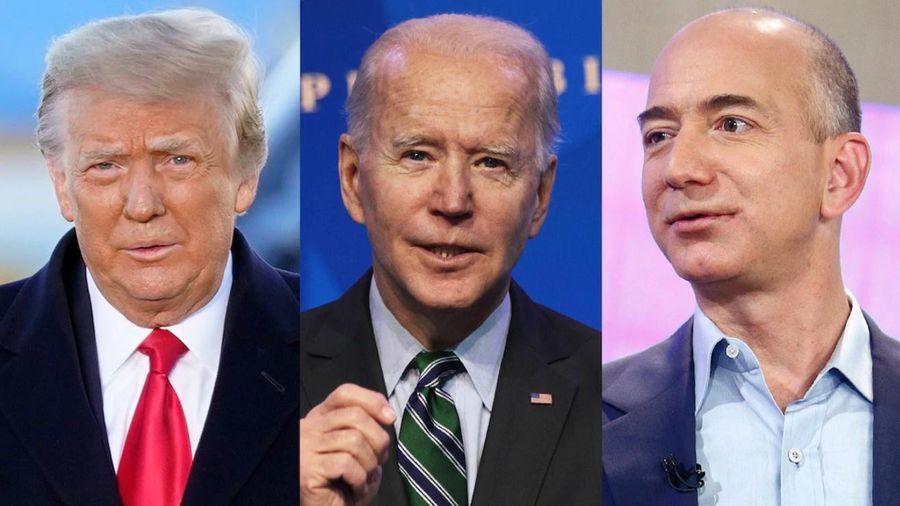 Amazon bỏ mặc ông Trump nhưng giúp ông Biden?