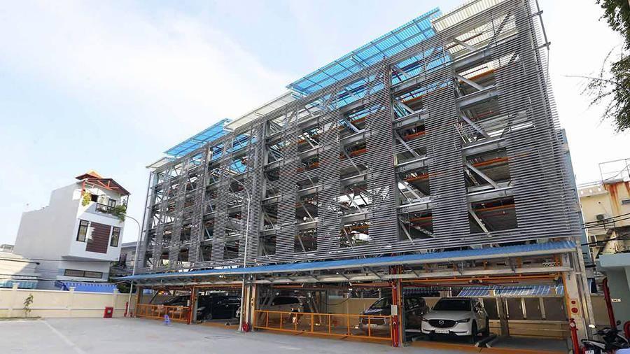Đà Nẵng sẽ có thêm bãi đỗ xe thông minh thứ hai