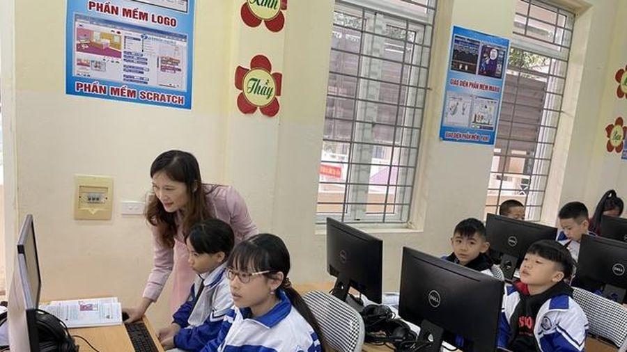 Hiệu quả ban đầu từ thí điểm đề án chuyển đổi số trong trường học Thanh Hóa