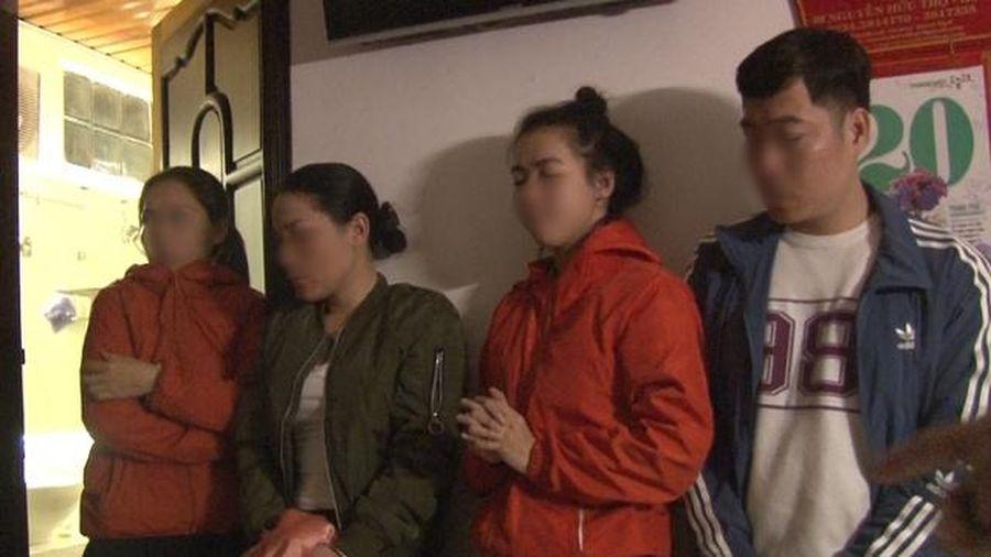 Huế: Phát hiện nhiều đối tượng 'phê' ma túy trong khách sạn và quán karaoke