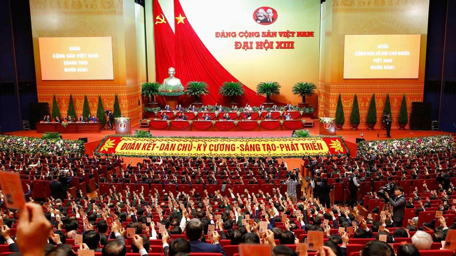 Đại hội XIII của Đảng: Phiên trù bị bầu 17 đồng chí là Chủ tịch Đại hội