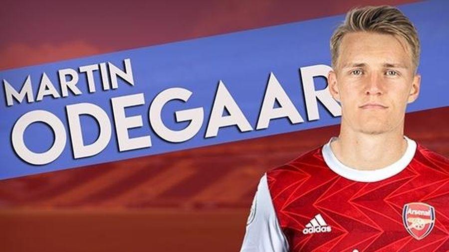 'Thần đồng' Odegaard chuẩn bị gia nhập Pháo thủ