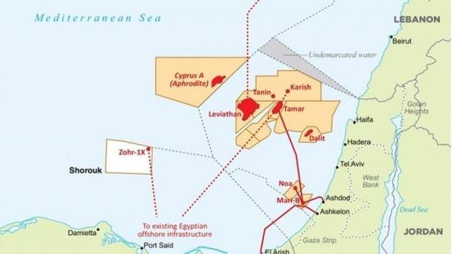 Chevron và đối tác đầu tư đường ống dẫn khí từ Israel sang Ai Cập