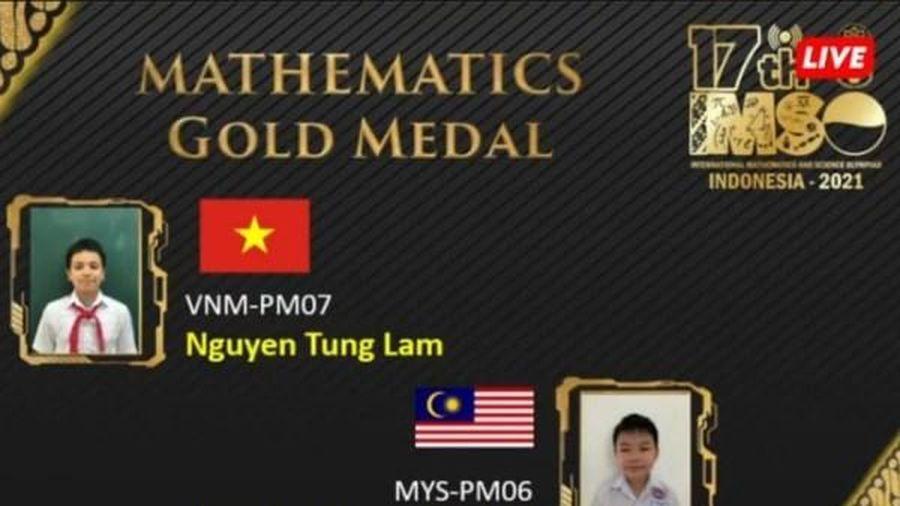 Học sinh Việt Nam giành 2 HCV Olympic Toán và Khoa học quốc tế