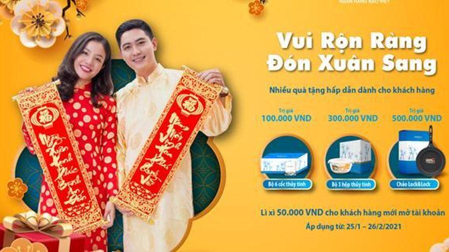'Vui Rộn Ràng - Đón Xuân Sang' cùng BAOVIET Bank