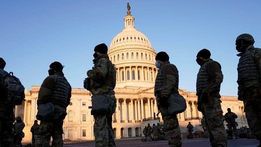 Phòng biến cố, 5.000 Vệ binh Quốc gia Mỹ ở lại thủ đô tới phiên luận tội ông Trump