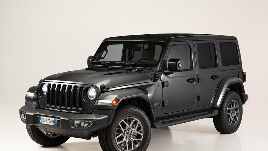 Jeep Wrangler 4xe First Edition chạy điện sắp 'lên kệ', giá từ 2,1 tỷ đồng