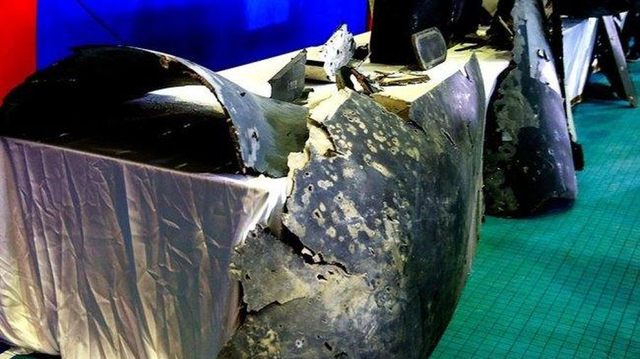 Máy bay mô phỏng Su-57 của Mỹ bị rơi