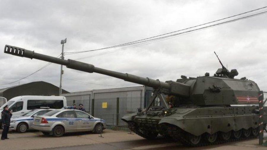 Một loại đạn dẫn đường mới sẽ được thử nghiệm trên pháo tự hành Koalitsiya-SV