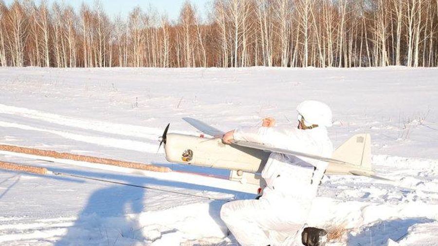 Quân đội Nga tập trận đối phó máy bay không người lái
