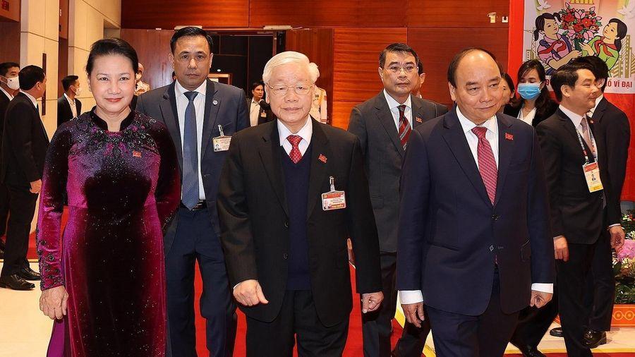 Tổng Bí thư, Chủ tịch nước Nguyễn Phú Trọng dự phiên trù bị Đại hội Đảng XIII