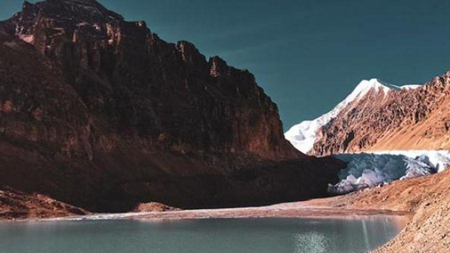 Sông băng ở Tây Tạng hiếm khi được thế giới bên ngoài biết đến