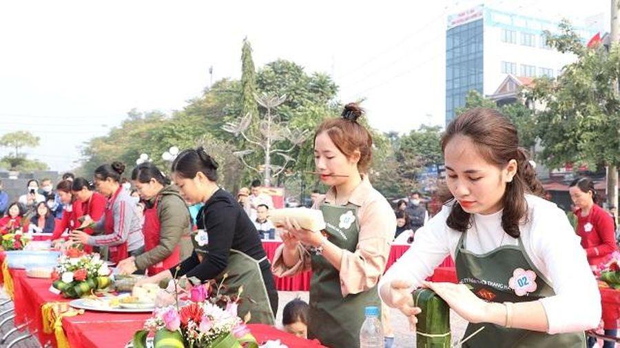 Bắc Giang: Thi gói bánh chưng, nét đẹp độc đáo ở huyện Hiệp Hòa