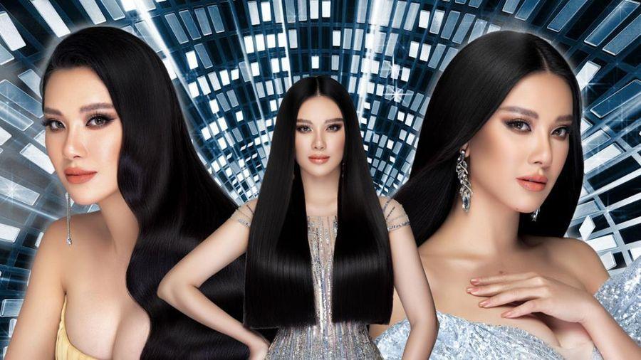 Á hậu Kim Duyên trở lại với suối tóc dài, khoe nhan sắc rạng rỡ trong bộ ảnh đón năm mới