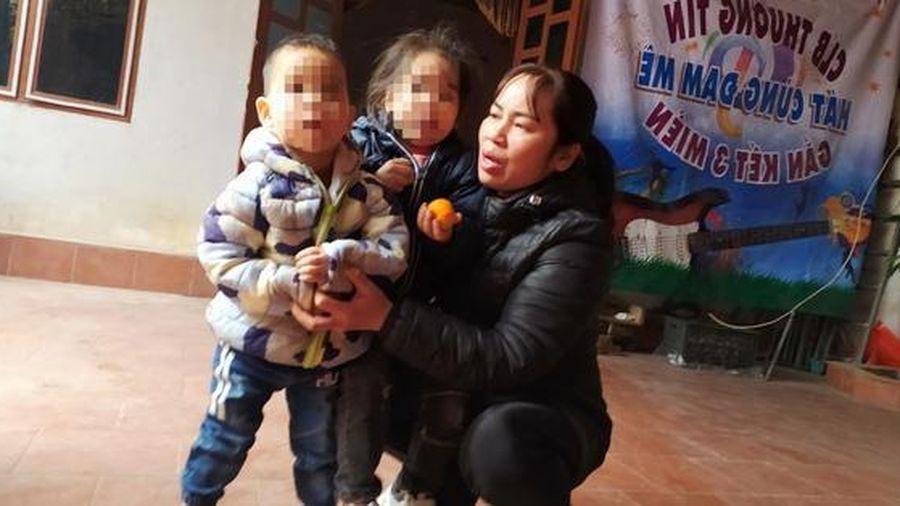 Diễn biến mới nhất vụ 2 cháu bé bị bỏ rơi trên đê sông Hồng