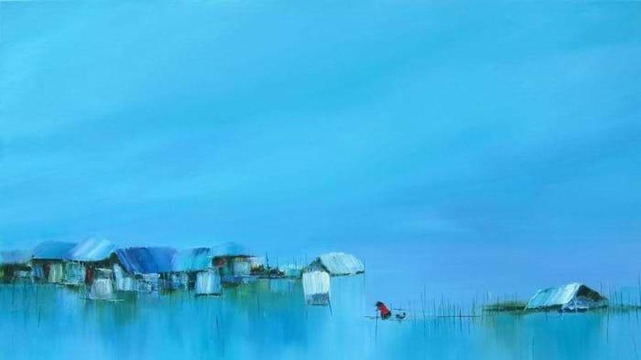 Họa sĩ Lê Minh - từ phong cảnh ngẫu hứng đến trừu tượng