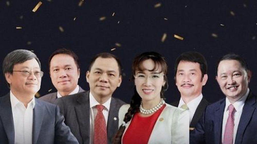 Top 10 doanh nhân giàu nhất sàn chứng khoán Việt sở hữu khối tài sản gần 400.000 tỷ đồng