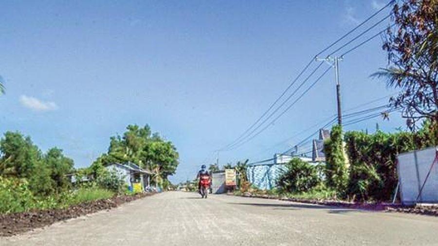 Kiên Giang đầu tư 309 tỉ đồng xây dựng đường ven sông Cái Lớn