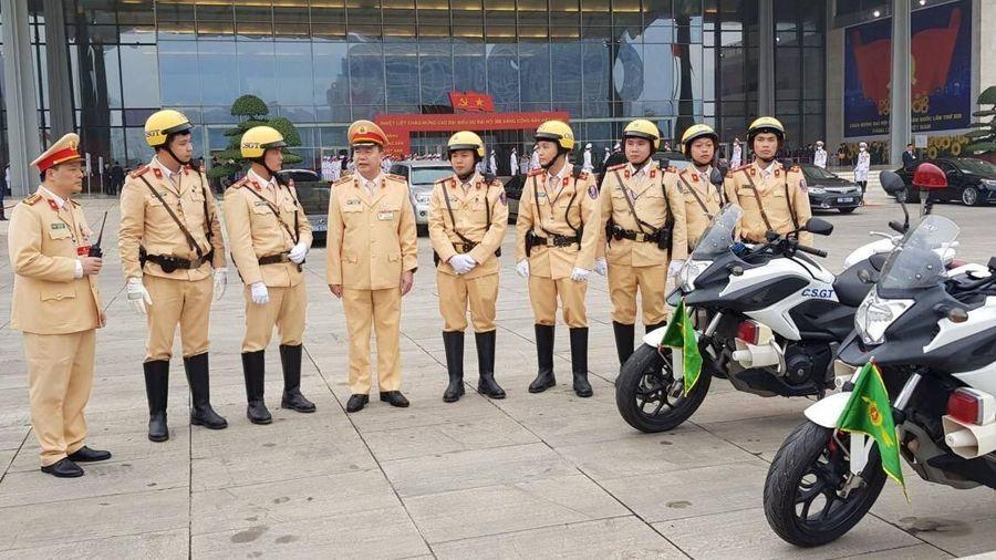 Ngày đầu diễn ra Đại hội Đảng XIII: Giao thông đảm bảo an toàn, thuận lợi