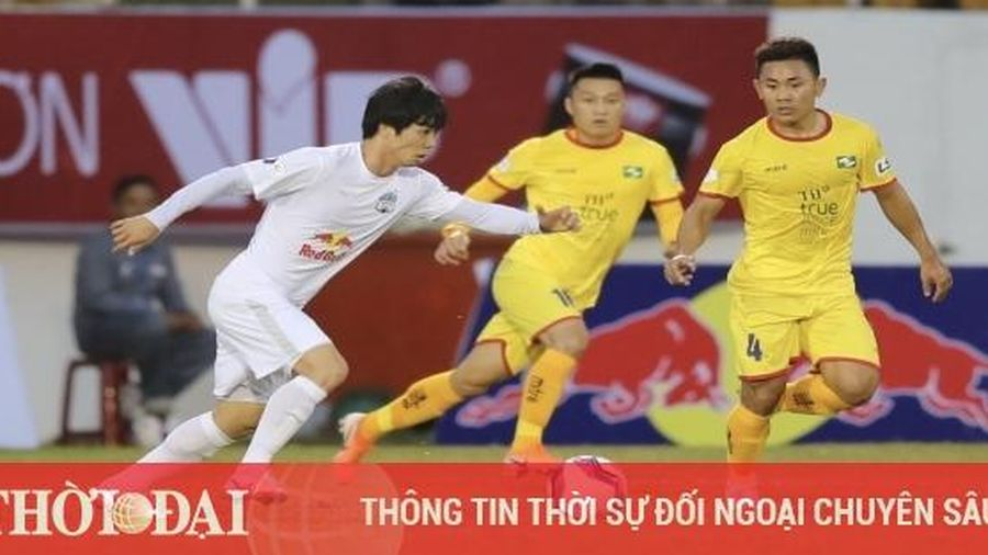 Lịch thi đấu vòng 3 V-League 2021: HAGL tiếp Bình Định, Hải Phòng đại chiến với Hà Nội