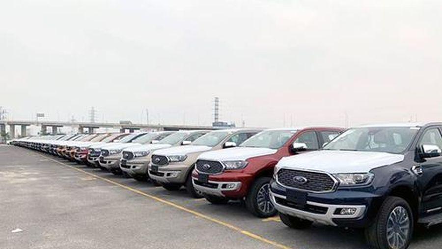 Ô tô nhập khẩu từ Thái Lan tăng cao