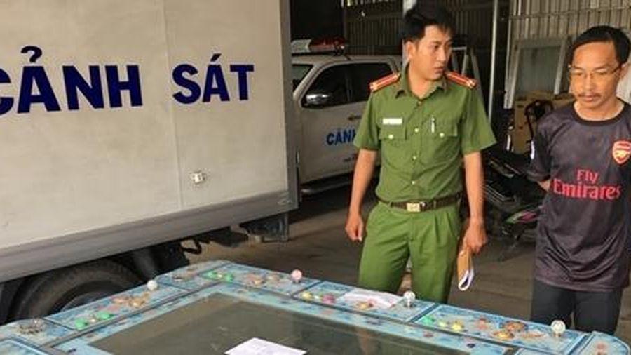 Chủ máy 'game bắn cá' bị phạt 12,5 triệu đồng