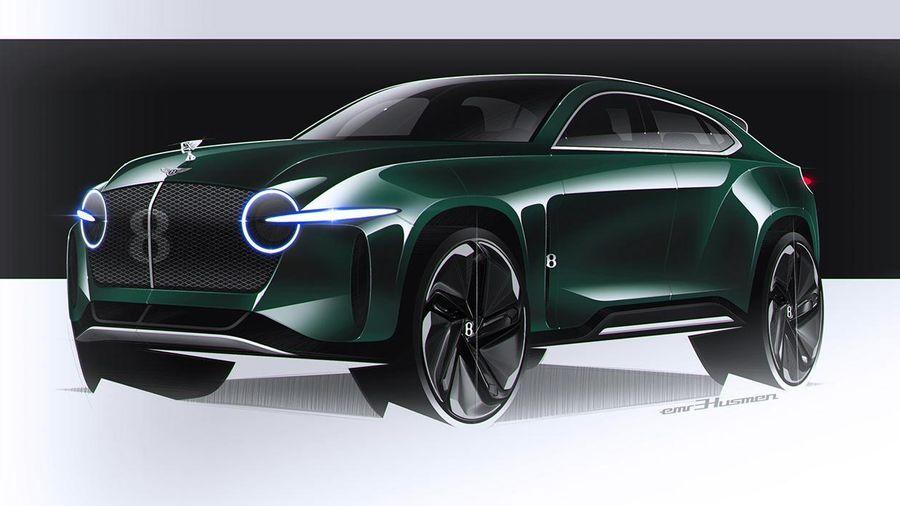 Bentley EXP8 bản ý tưởng làm 'lu mờ' Bentayga