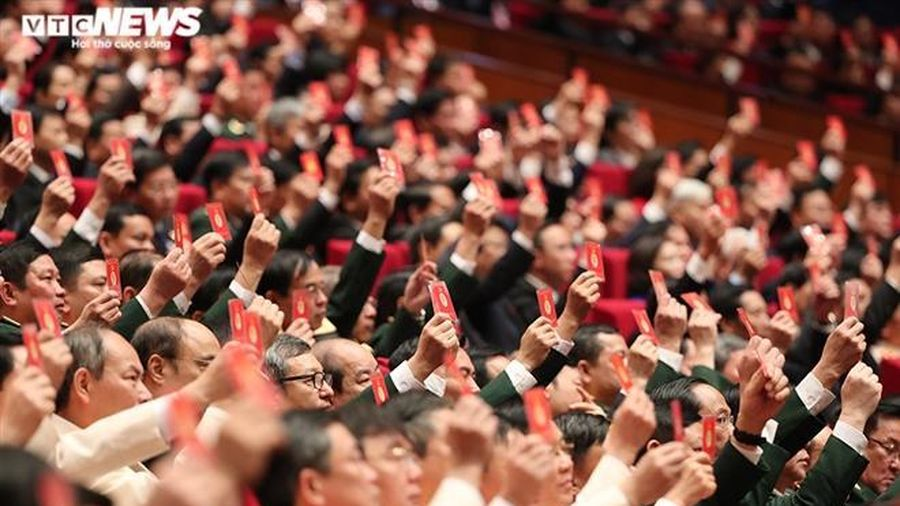 Đoàn Chủ tịch Đại hội XIII của Đảng gồm 17 thành viên