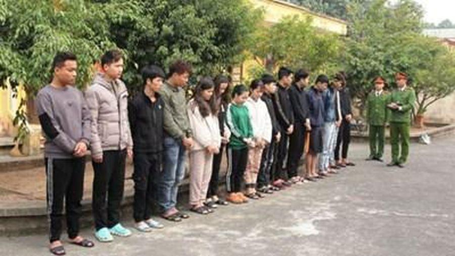 Hà Nam: Bắt nhóm 15 đối tượng dùng mạng xã hội lừa đảo hàng trăm triệu đồng