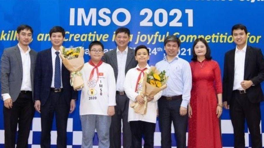 20 học sinh Việt Nam đoạt huy chương Olympic Toán và Khoa học quốc tế