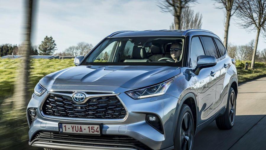 Toyota Highlander 2021 được ra mắt tại châu Âu
