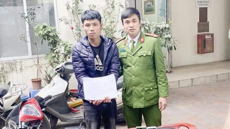 Nam thanh niên dắt xe máy lang thang trong đêm, lộ chân tướng là kẻ trộm cắp