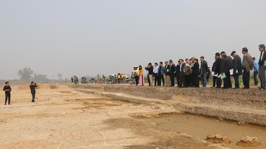 Phát hiện tư liệu mới qua khai quật khảo cổ di tích Thành Nhà Hồ