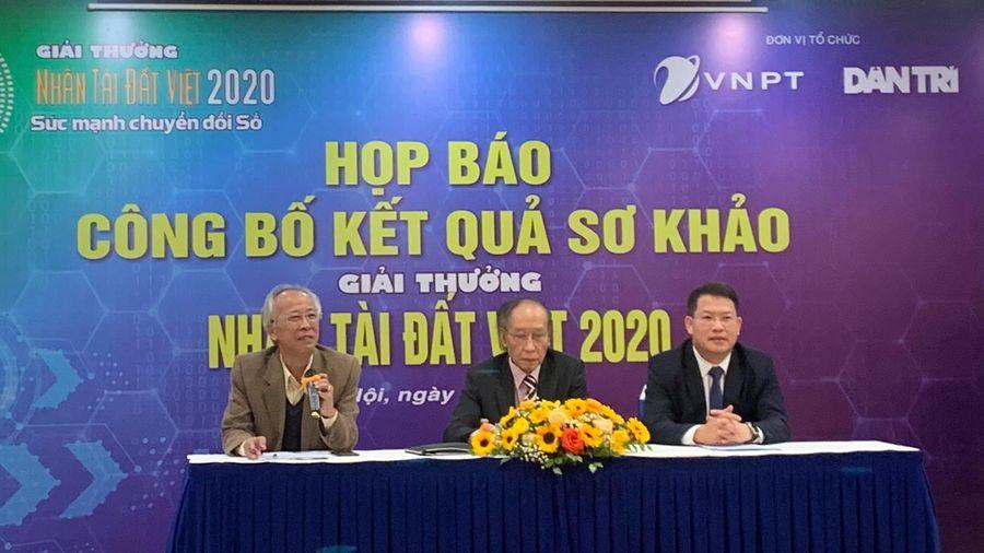 18 sản phẩm CNTT vào Chung khảo 'Nhân tài Đất Việt' 2020