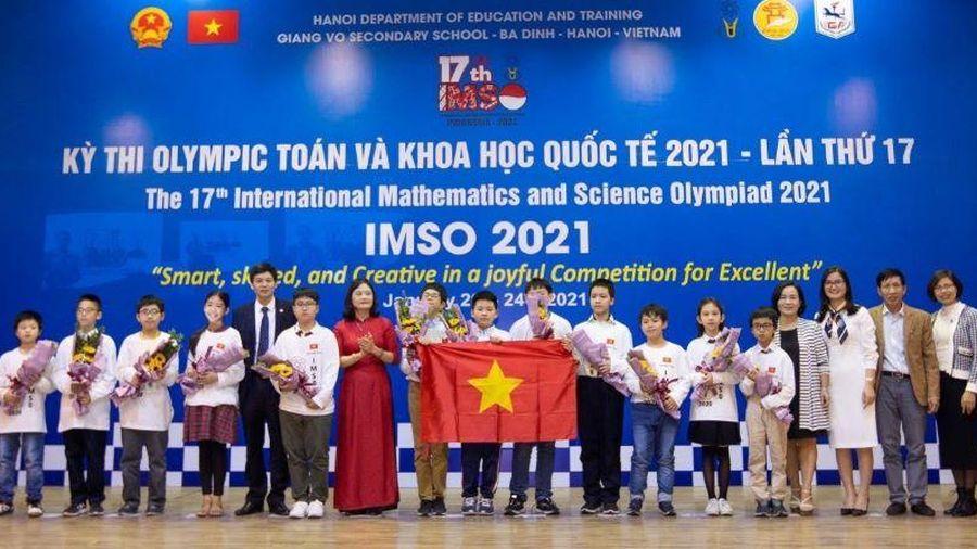 Học sinh Việt Nam giành nhiều huy chương IMSO 17