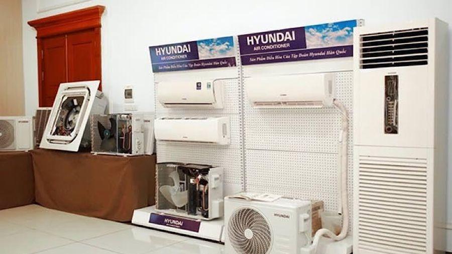 Tập đoàn Hyundai Hàn Quốc đưa điều hòa Hyundai vào thị trường Việt