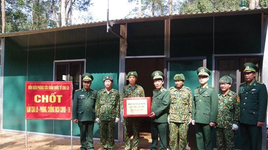 Bộ Tư lệnh Biên phòng thăm, chúc Tết vùng biên giới khu vực miền trung