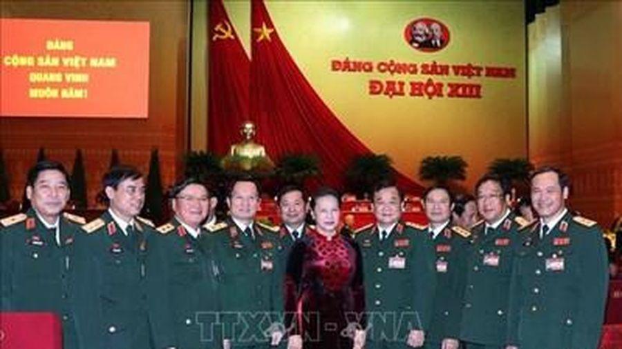 Đại biểu Quân đội tham dự Đại hội XIII của Đảng tích cực phát huy vai trò nêu gương
