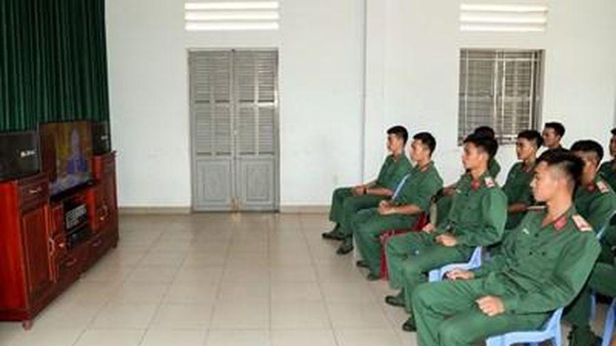 Cán bộ, chiến sĩ cả nước hướng về Đại hội đại biểu toàn quốc lần thứ XIII của Đảng