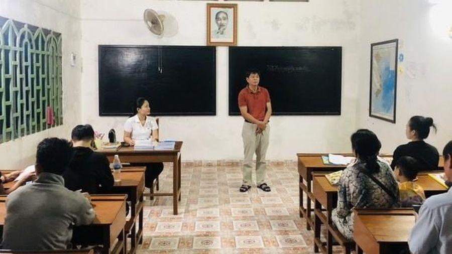 Khai giảng lớp học tiếng Khmer cho bà con gốc Việt tại tỉnh Preah Sihanouk, Campuchia