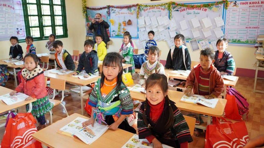300 triệu đồng xây dựng 2 phòng học kiên cố cho trẻ em vùng cao Lào Cai