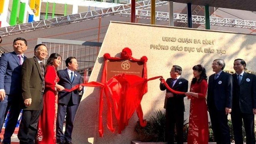 Hà Nội: Tiếp tục nỗ lực xây dựng trường chuẩn quốc gia