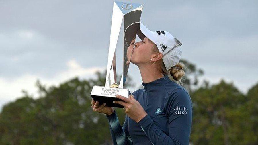 Jessica Korda vô địch Tournament of Champions