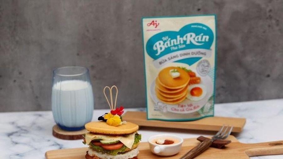 Thực đơn bữa sáng chuẩn dinh dưỡng cho người bận rộn
