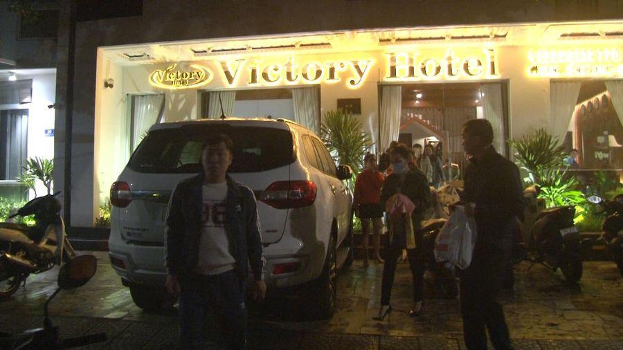 Nhiều đối tượng dương tính ma túy trong quán karaoke và khách sạn ở Huế