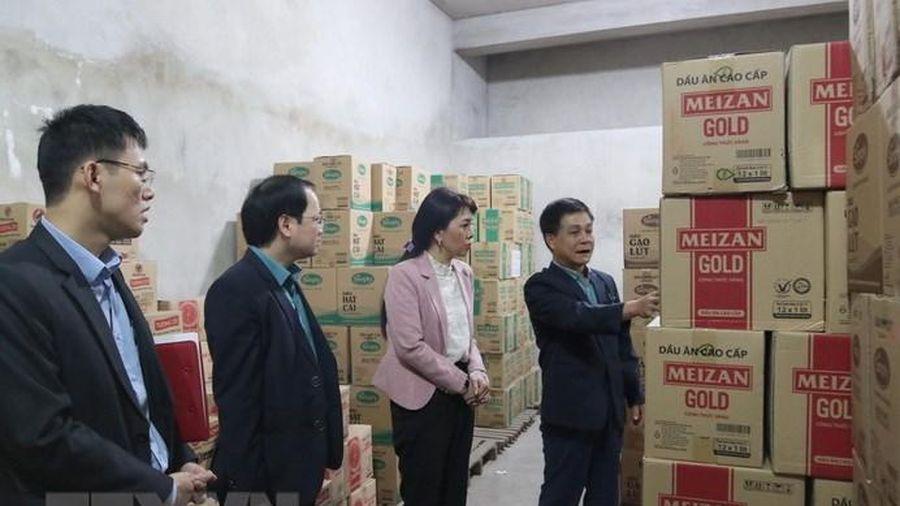 Lạng Sơn: Không để xảy ra thiếu hàng thiết yếu dịp Tết Nguyên đán