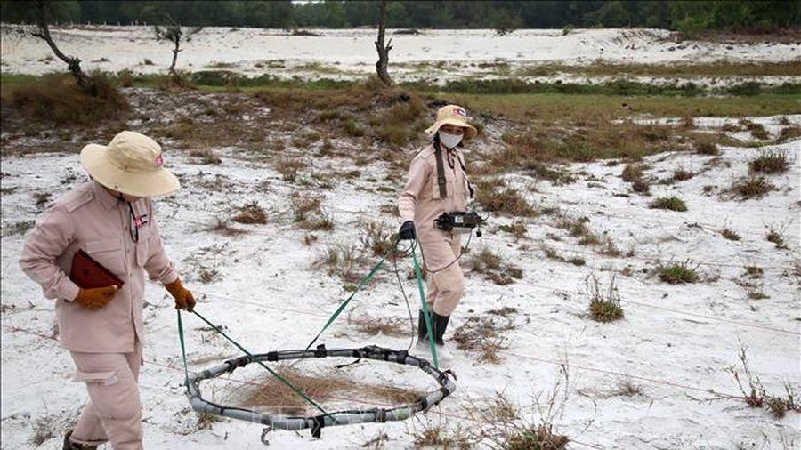 Quảng Trị phấn đấu mỗi năm rà phá 3.000 ha đất nhiễm bom mìn