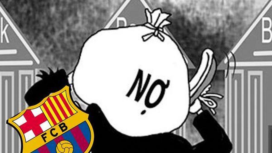 Nợ hơn 30.000 tỷ đồng, Barcelona đứng trước nguy cơ phá sản