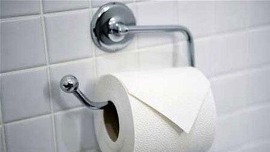 Thói quen chết người từ việc dùng giấy vệ sinh