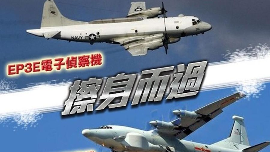 Căng thẳng Mỹ-Trung: hai máy bay đối đầu nhau gần Đài Loan, tàu sân bay Mỹ tiếp cận bãi Scaborough